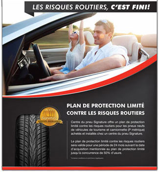 Plan de protection hazard de route St-Georges